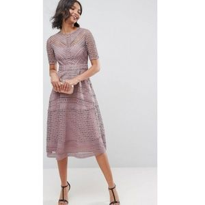 NWT ASOS | Lace Midi Dress